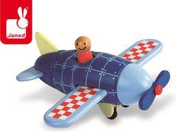 Janod Samolot drewniany magnetyczny, Janod - J05205