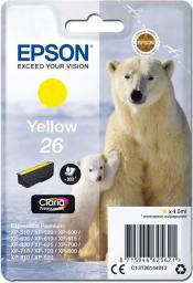 Epson Tusz C13T26144012, T261440 (yellow)