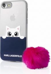 Karl Lagerfeld Etui hard do iPhone 7 transparentne (KLHCP7TRGPABPI)