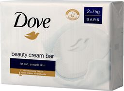 Dove  Beauty Cream Bar Mydło w kostce kremowe 2x75g