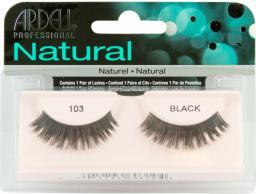 Ardell Natural 103 1 para sztucznych rzęs Czarne