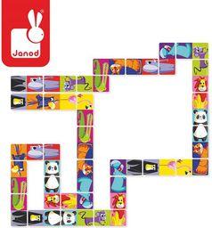 Janod Domino Dżungla XL (J02771)