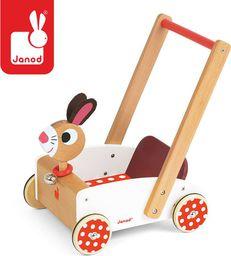 Janod Szalony królik wózek chodzik, Janod - J05997