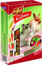 Vitapol Karma uzupełniająca warzywno-owocowa dla chomika i królika 340g