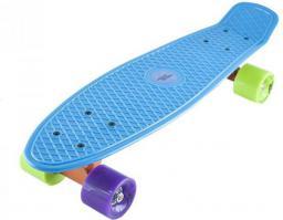 Deskorolka NILS Extreme Pennyboard basic blue (16-3-104)