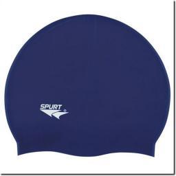 SPURT Czepek pływacki silikonowy F248 Granatowy (11-3-001)