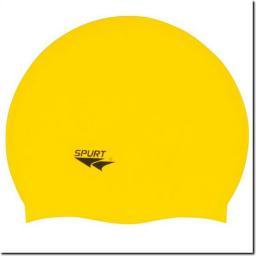 SPURT Czepek Silikonowy F201 Jednokolorowy Żółty (11-3-030)