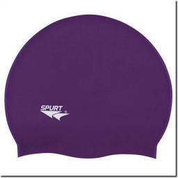 SPURT Czepek pływacki Silikonowy SH77 Purpurowy (11-3-033)