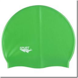 SPURT Czepek pływacki Silikonowy SH86 Zielony  (11-3-034)