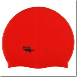 SPURT Czepek Silikonowy G511 Jednokolorowy Czerwony (11-3-039)