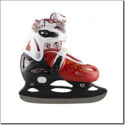 NILS Extreme Łyżwy Hokejowe NH0320 A Czerwony Rozm. S (31-34) (18-0-548)