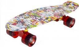 Deskorolka NILS Extreme Pennyboard art multicolor (16-3-114)