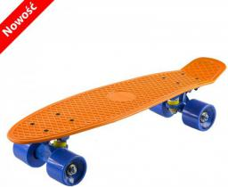 Deskorolka NILS Extreme Pennyboard orange blue (16-3-111)