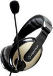 Słuchawki z mikrofonem Manta HDP008