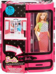 Mattel Barbie Garderoba Walizeczka (DMT57)