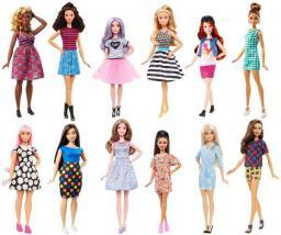Barbie Fashionistas Lalki Modne przyjaciółki MIX (381904)