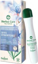 Farmona Herbal Care - Krem roll-on pod oczy przeciwzmarszczkowy Irys Syberyjski  15ml