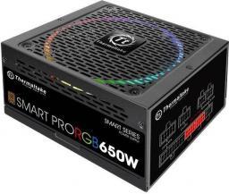 Zasilacz Thermaltake Smart Pro RGB 650W (PS-SPR-0650FPCBEU-R)