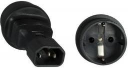 MicroConnect Adapter zasilania C14 - Schuko (PE14CEEAD)