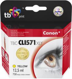 TB Tusz Canon CLI-571XL (TBC-CLI571XLY YE)