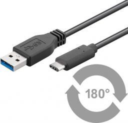 Kabel USB MicroConnect USB-C - USB-A, 0.15m (USB3.1CA0015)