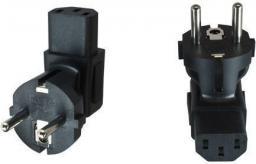 MicroConnect Adapter Schuko - C13, czarny (PESC13ADA)