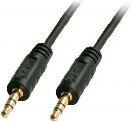 Kabel Lindy Jack 3.5mm - Jack 3.5mm 10m czarny (35646)