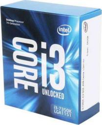 Procesor Intel Core i3-7350K, 4.2GHz, 4 MB, BOX (BX80677I37350K)