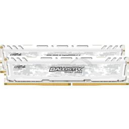 Pamięć Ballistix Ballistix Sport LT, DDR4, 16 GB,2666MHz, CL16 (BLS2C8G4D26BFSC)