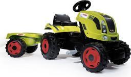Smoby Class Traktor XL + przyczepa - 7600710114