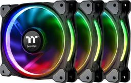 Thermaltake Riing Plus 12 LED RGB 3-pack + Hub (CL-F053-PL12SW-A)