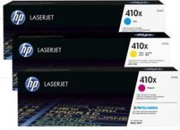 HP Toner 410X 3-pack, CMY (CF252XM)