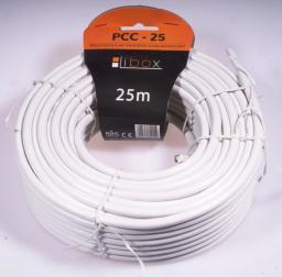 Przewód Libox Antenowy, 25, Biały (PCC25)