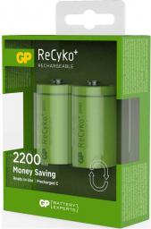 GP Battery 1x2 ReCyko+ NiMH Aku Baby C 2200 mAH (120220CHCC2)