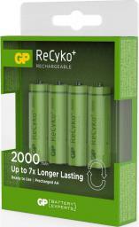GP Battery 1x4 ReCyko+ NiMH Aku Mignon AA 2000 mAH (120200AAHCC4)