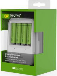 Ładowarka GP Battery ReCyko+ PB420 Ladegerät +. 4 x AA 2000mAH (130420GS200AAHCC4)