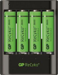 Ładowarka GP Battery PB421 + 4x AA 2600mAh (130421USB270AAHCC4)