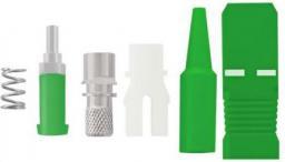 Qoltec Złącze światłowodowe SC/APC, SM, 0.9 mm (54167)