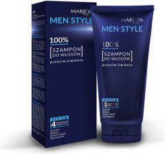 Marion Men Style 100% Szampon do włosów przeciw siwieniu  150g