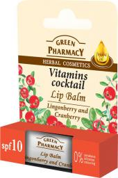 Green Pharmacy Green Pharmacy Lip Balm Balsam do ust Vitamins Coctail 3.6g