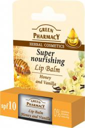 Green Pharmacy Green Pharmacy Balsam do ust miód i wanilia Super Nourishing 3.6g (816978)