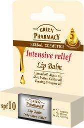 Elfa Pharm Green Pharmacy Lip Balm Balsam do ust Intensive Relief 3.6g