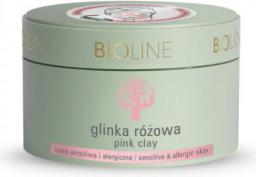 Bioline Glinka różowa 150g