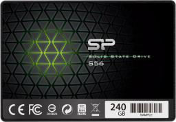 Dysk SSD Silicon Power S56 240GB SATA3 (SP240GBSS3S56B25)