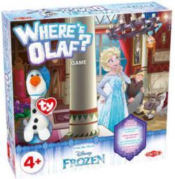 Tactic Gra planszowa Kraina Lodu  Where is Olaf? (54064)