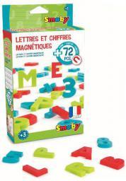 Simba Cyfry, litery  i znaki magnetyczne 72szt. (7600430102)