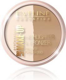 Eveline Art Professional Make-up Puder brązująco-rozświetlający nr 56  12g