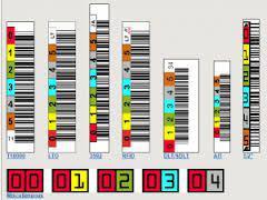 Quantum Kody kreskowe do automatyzacji pracy taśmy LTO-7 Ultrium (3-07185-11)