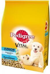 Pedigree Junior z kurczakiem - 0.5kg