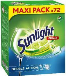 Unilever Tabletki do zmywarki  Sunlight 72szt. (660886)